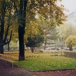 Wegeverbindung an der historischen Kastanienallee