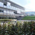 Kunsthof - Platz für Kunst und Aufführungen -  mit Rasenwelle