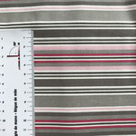 Streifen in rosa- und grau-Tönen