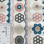 Mandala Muster in türkis, grau, hellbeige, rotbraun