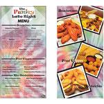 Perkins Restaurant Funky Late Night Menu design; Wheeling, WV, April 2011