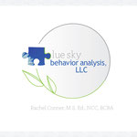 Blue Sky Behavior Analysis, LLC, logo and business card design; May 2012