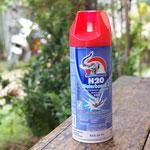 Raumsprays sind gut geeignet um Moskitos loszuwerden.