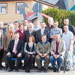 Gruppenfoto der Kandidaten/in der CDU/FWV-Fraktion