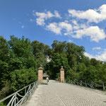 お城の裏にある橋 この先、心臓破りの坂ですw