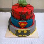 Superhelden Torte