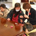 2013.1月 大野台サポートセンター かぎ針コサージュ講習