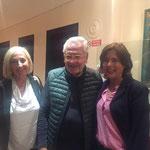 Giorgio Conte con Barbara Colombotto Rosso e Laura Pompeo