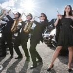 Saxophone: Banglmayr Kurt, Ziegler Martin, Breitschopf Martin, Bugl Helmut, Eder Monika,  Pfeil Viktoria