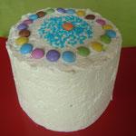Le gâteau est terminé...