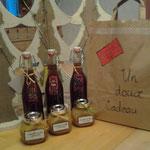 Sirop aux épices et caramel au miel à tartiner