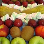 Fruits et guimauves