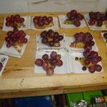 Hérissons en fruits