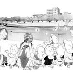 全国福祉協議会「保育の友」挿絵