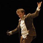"""Osvald in """"Gespenster"""" (Ibsen), Regie: Balasz Varnai, Theaterakademie München"""