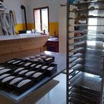 04-11-15 Visite du Fournil et de l'épicerie de La GraineOPain, chez Didier et Annick, Warmshowers (Loire)