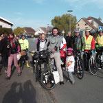 24-10-15 Grand Départ depuis Couthenans (Haute-Saône) !!!