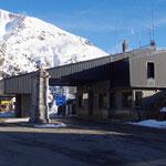 29-11-15 Arrivée au sommet du Col du Somport