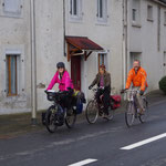 28-11-15 Départ de chez Pierre et Stéphanie, Warmshowers (Pyrénées Atlantiques)