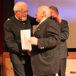 Glasstraßenpreis 2018 Ehrenpreis: Willi Steger, Ernst Hinsken, HelmutBrunner