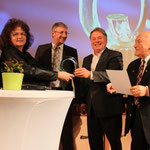 Glasstraßenpreis 2018 Preisträger: Waldmuseum Zwiesel, ElisabethVogl, Franz Xave rSteininger, Helmut Brunner, Ernst Hinsken
