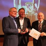 Glasstraßenpreis 2018 Preisträger: Berghof Gibacht, Ralph Wenzel, Helmut Brunner, ErnstHinsken
