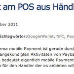 Mobile Payment am POS aus Händlersicht – eine Übersicht