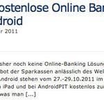 Weltspartag: Kostenlose Online Banking App für iOS und Android