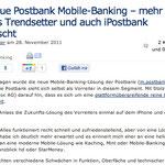 Das neue Postbank Mobile-Banking – mehr BTX als Trendsetter und auch iPostbank enttäuscht