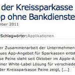 Giro-X-tra App der Kreissparkasse Peine – Sparkassen-App ohne Bankdienste