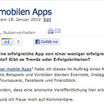 Trends bei mobilen Apps