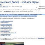 Payments und Games