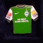 2009/10 Heim-Trikot mit Bundesliga-Logo