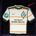 2009/10 Auswärts-Trikot U23 mit 3.Liga-Logo ( Besonderheit: dunkle Schultern)