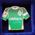 2007/08 Heim-Trikot mit Bundesliga-Logo