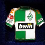 2006/07 Heim-Trikot mit Bundesliga-Logo