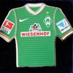 2013/14 Heim-Trikot mit Bundesliga-Logo