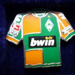 2006/07 Auswärts-Trikot mit Bundesliga-Logo