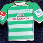2016/17 Heim-Trikot mit Bundesliga-Logo