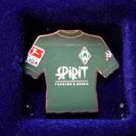 2002/03 Auswärts-Trikot mit Bundesliga-Logo