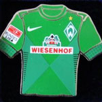 2012/13 Heim-Trikot mit Bundesliga-Logo