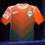 2012/13 Event-Trikot mit Bundesliga-Logo aber ohne Sponsor