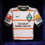 2009/10 Auswärts-Trikot mit Bundesliga-Logo
