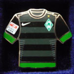 2012/13 Auswärts-Trikot mit Bundesliga-Logo aber ohne Sponsor
