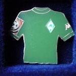 2001/02 Heim-Trikot mit Bundesliga-Logo aber ohne Sponsor