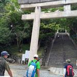 集合場所・受付は、四条畷神社前となります