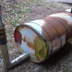 ドラム缶の外観