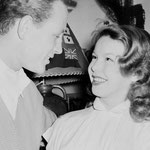 Cécile Aubry et Jacques Sernas à Bordeaux, le 11 février 1951 © archives sud ouest