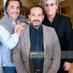 Nicolas Vanier (réalisateur), Mehdi el Glaoui et Tchéky Karyo (César)