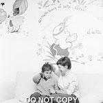 Cécile Aubry et Mehdi dans la salle de jeux © ebay